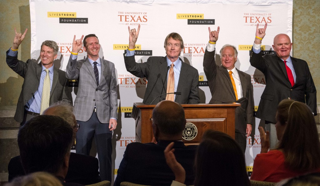 LIVESTRONG Foundation puts UT Austin over the $3 billion goal line
